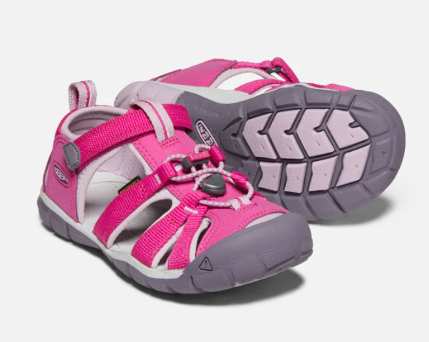 Keen Very Berry/Dawn Pink Seacamp II CNX Children's Sandal