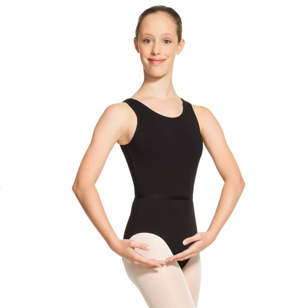 Mondor Adult Black Tank Leotard