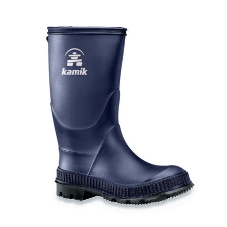 Kamik Stomp Navy/Black Rain Boot