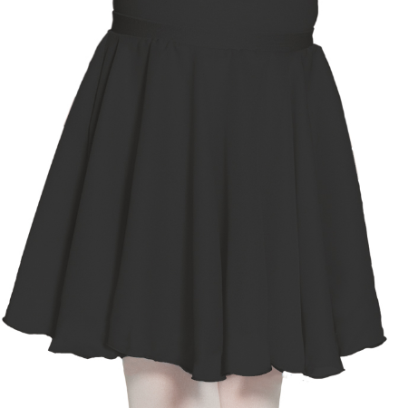 Mondor Black Pull-On Skirt