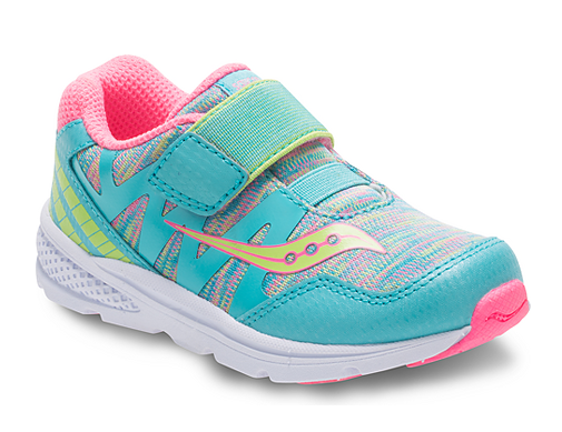 Saucony Turquoise Baby Ride Pro Toddler/Children's Sneaker