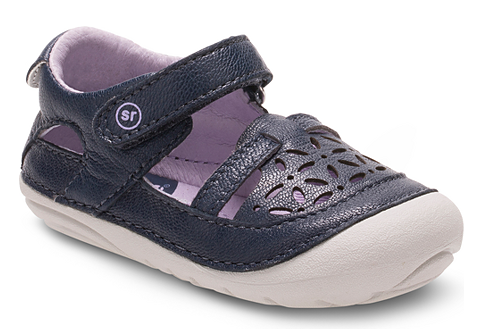 Stride Rite Navy Soft Motion Viviana Toddler Sandal