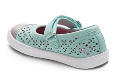 Stride Rite Turquoise Poppy Mary Jane Shoe