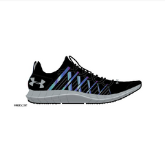 Under Armour Black/Overcast Grey Infinity Sneaker