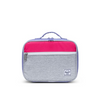 Herschel Grey Crosshatch/Raspberry Sorbet/Aster Purple Pop Quiz Lunch Bag