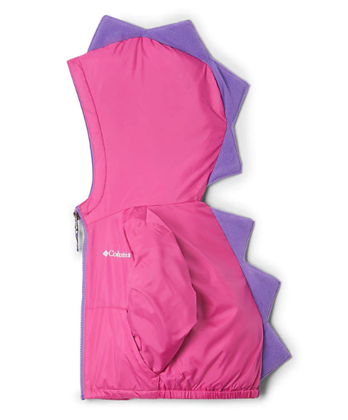 Columbia Pink Ice/Grape Kitterwibbit Toddler Jacket