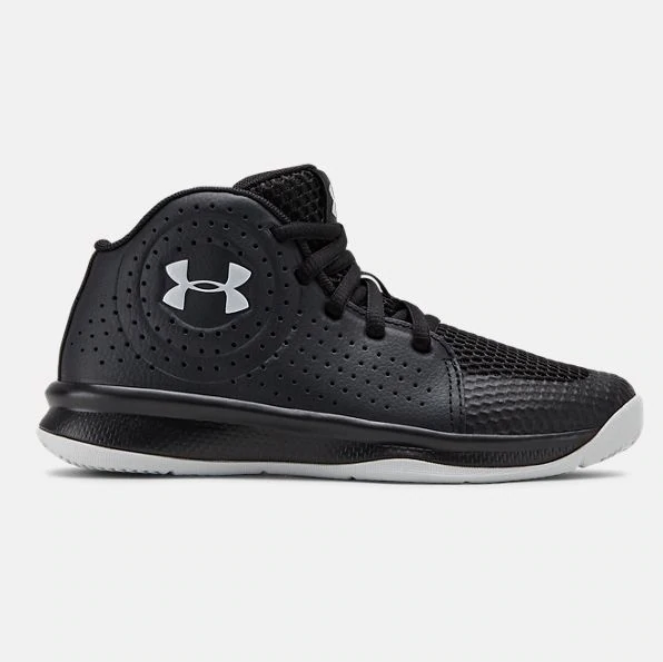 Under Armour Black/Halo Grey Jet 2019 Basketball Sneaker