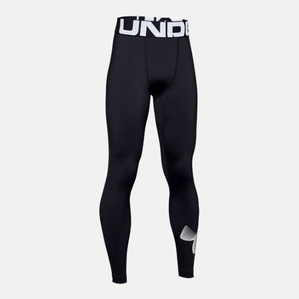 Under Armour Black/White ColdGear Legging