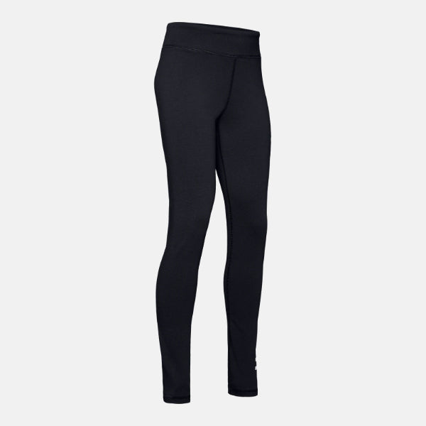 Under Armour Black/White Sportstyle Branded Leggings