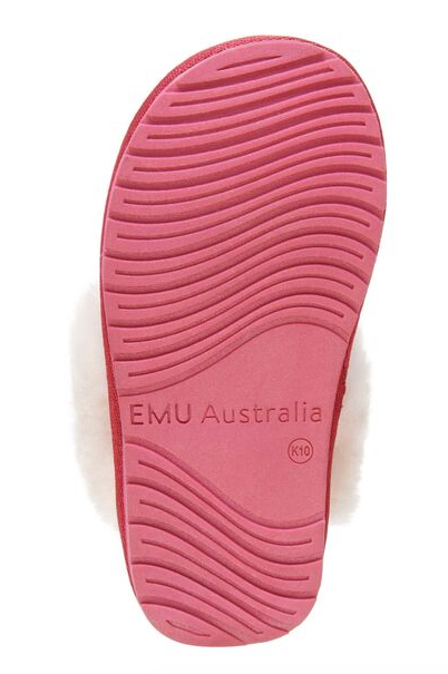 EMU Berry Jolie Quilted Slipper