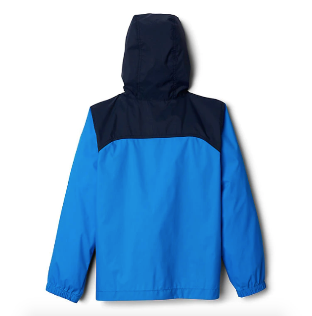Columbia Hyper Blue Glennaker Toddler Rain Jacket
