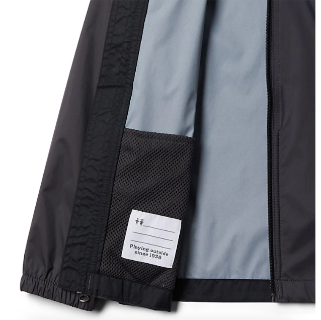 Columbia Shark/Black Glennaker Rain Jacket