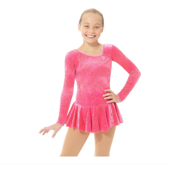 Mondor Indy Rose Born to Skate Glitter Skating Dress