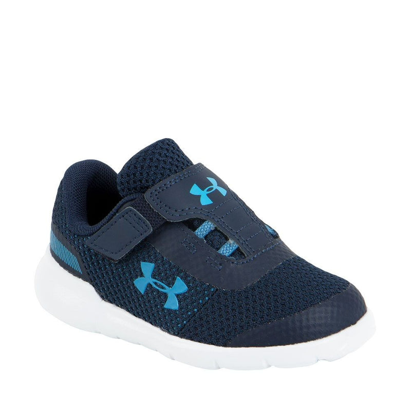 Under Armour Academy/Mod Grey/Ether Blue Surge Infant Sneaker