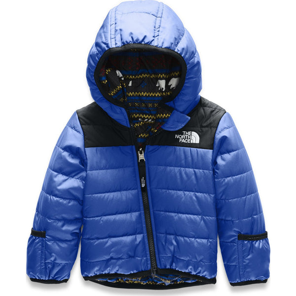The North Face TNF Blue Reversible Perrito Infant Jacket