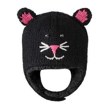 KnitWits Kiki the Kitty Infant Pilot hat