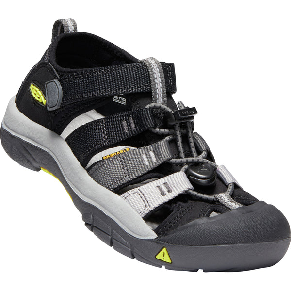 Keen Black/Magnet Newport H2 Little/Big Kid Sandal