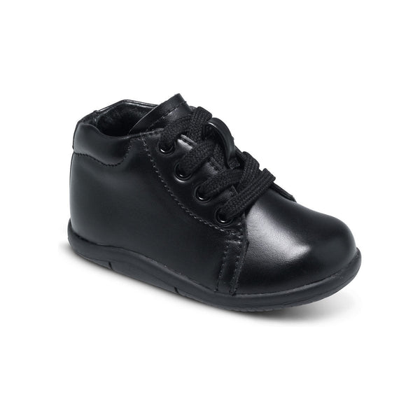 Stride Rite Elliot Black Walking Shoe