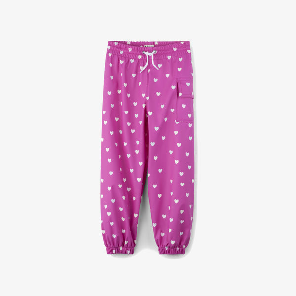 Hatley Colour-Changing Multi Hearts Splash Pant