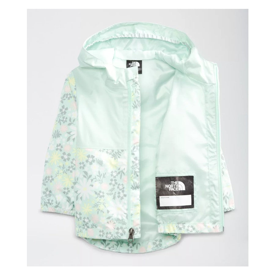 The North Face Misty Jade Flower Garden Infant Zipline Rain Jacket