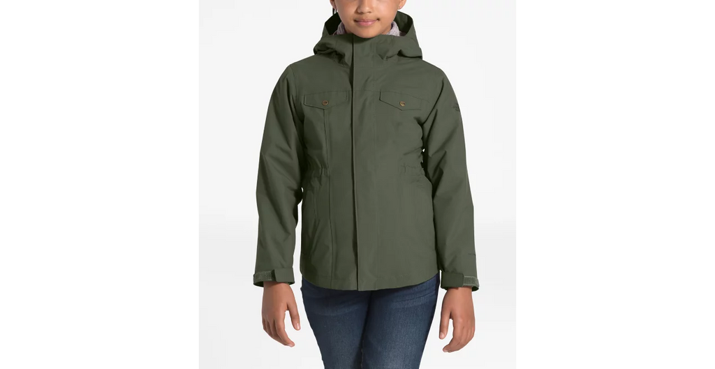 The North Face New Taupe Green/Ashen Purple Osolita Triclimate Jacket
