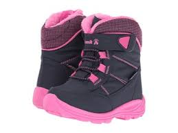 Kamik Navy/Magenta Stance Toddler Boot