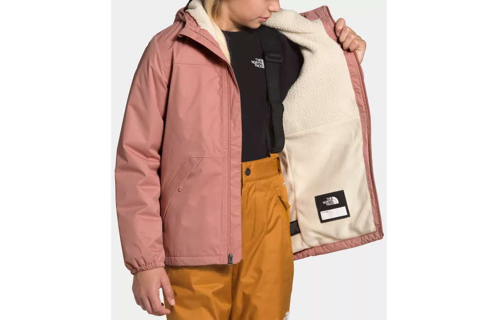 The North Face Pink Clay Warm Storm Jacket