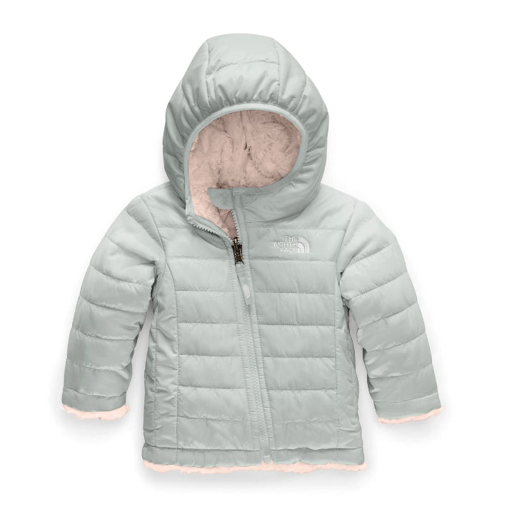The North Face Meld Grey Mossbud Swirl Reversible Infant Jacket