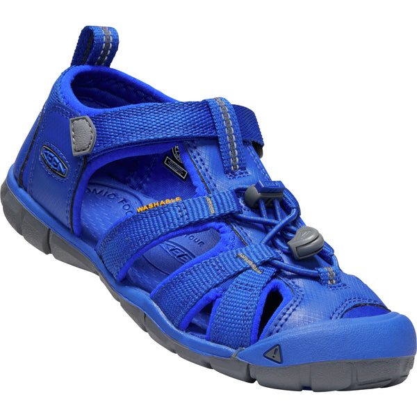 Keen Bright Blue Seacamp II CNX Little/Big Kid Sandal
