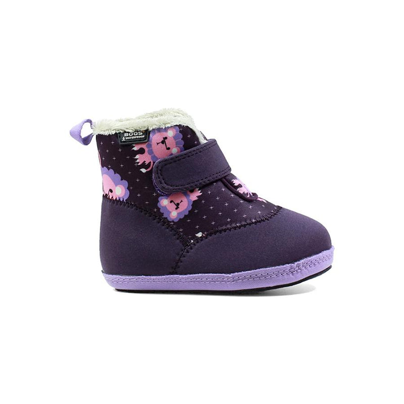 BOGS Purple Elliot Lion Baby Insulated Boot