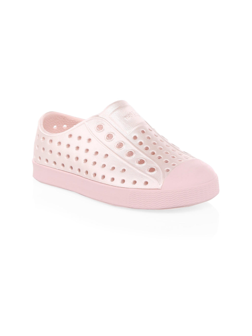 Native Shoes Metallic Pink Children's Jefferson Shoe