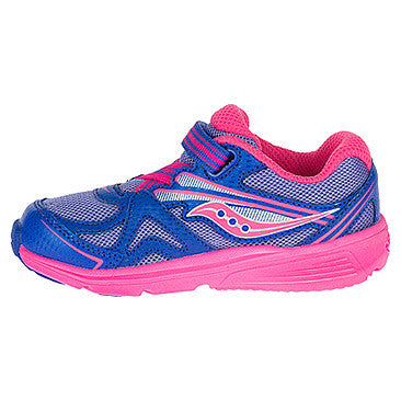 Saucony Periwinkle/Pink Baby Ride Toddler/Children's Sneaker