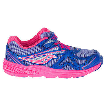Saucony Periwinkle/Pink Baby Ride Sneaker