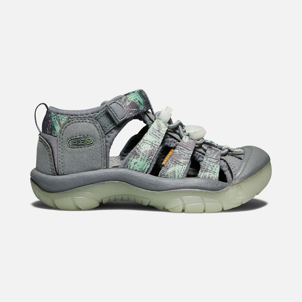 Keen Steel Grey/Glow Newport H2 Big Kid Sandal