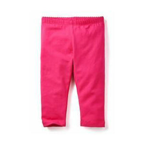 Tea Collection Hot Pink Solid Capri Leggings