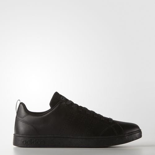 adidas All-Black VS Advantage Clean Laced Sneaker