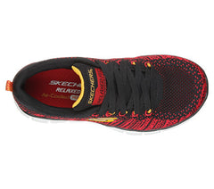 Skechers Black/Red Equalizer 2.0- Perfect Game Sneaker