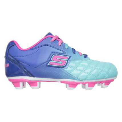Skechers Teamsterz  Blue/Aqua Tricky Kicks Cleats