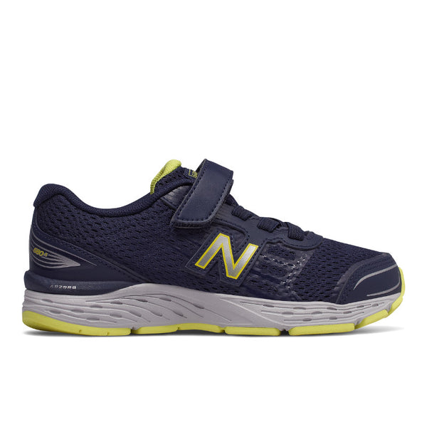 New Balance Pigment/Limeade 680v5 A/C Sneaker