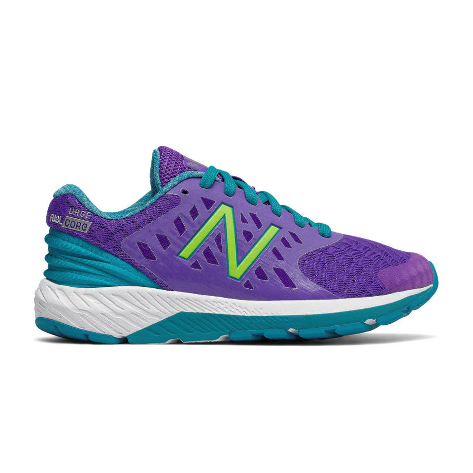 New Balance Purple/Teal FuelCore Urge Extra Wide Children