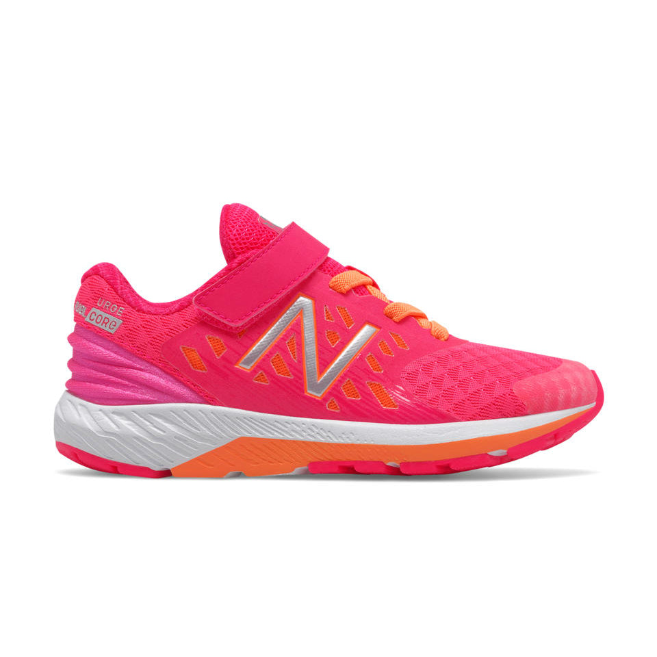 New Balance Pink/Orange FuelCore Urge Little Kid Sneaker