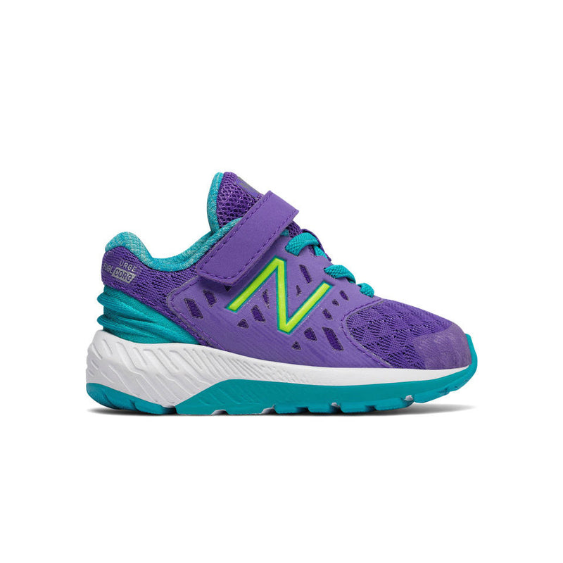 New Balance Purple/Teal FuelCore Urge Extra-Wide Toddler Sneaker