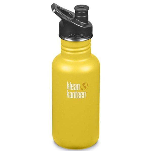 Klean Kanteen 18oz Stainless Steel Classic - Lemon Curry
