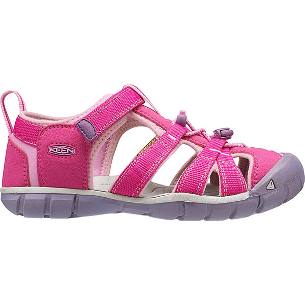Keen Very Berry/Lilac Chiffon Seacamp II CNX Big Kid Sandal