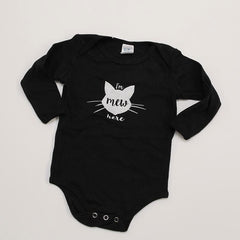 Poison Pear Long Sleeved Onesie Black Mew Here