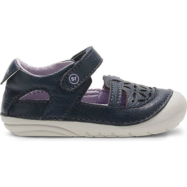Stride Rite Navy Soft Motion Viviana Sandal