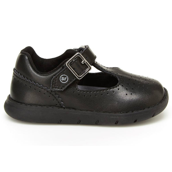 Stride Rite Black Nell Toddler Mary Jane Shoe