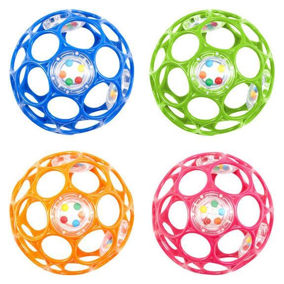 Oball Rattle Ball 4""