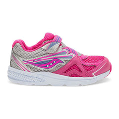 Saucony Pink Baby Ride 9 Toddler/Little Kid Sneaker