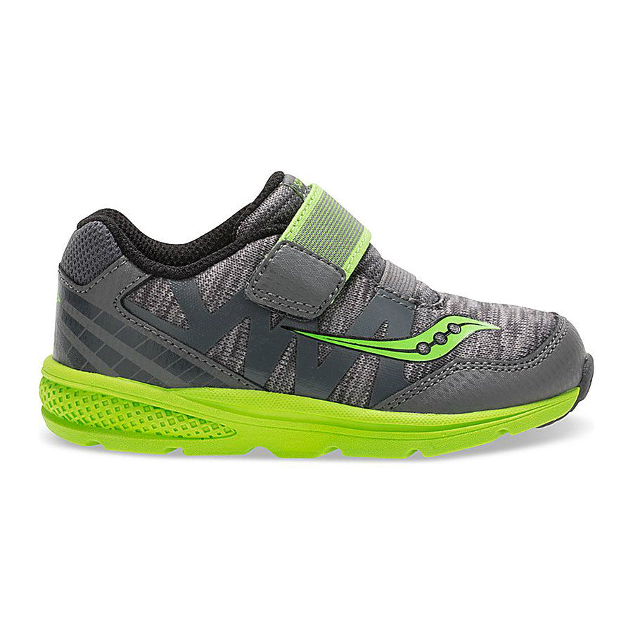 Saucony Grey/Green Baby Ride Pro Baby/Toddler Sneaker